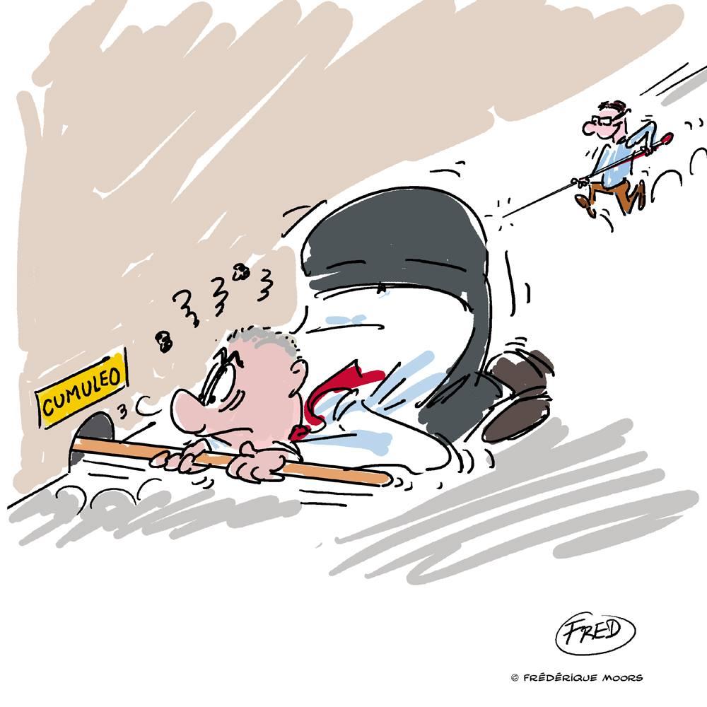 Cumuleo - Christophe Van Gheluwe : Ne le cherchez pas, il pique !