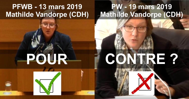 Mathilde Vandorpe cdH